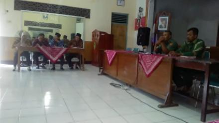Rapat Koordinasi Pembahasan Review RKPDes 2018 BPD bersama dengan Pemerintah Desa
